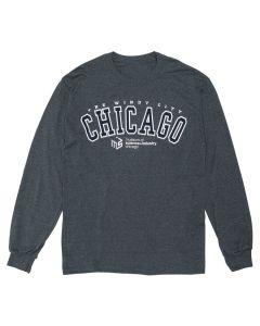 Adult MSI Vintage Logo Crewneck Sweatshirt