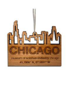 Wood MSI Ornament