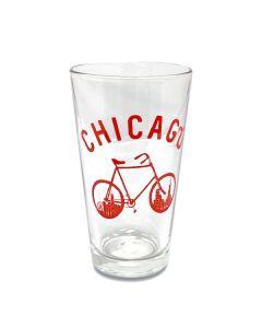Chicago Urban Traveler Pint Glass