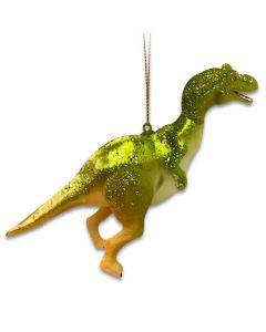 Glass Dinosaur Ornament