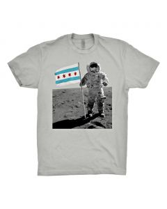 Adult Chicago Moon Man T-Shirt