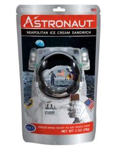 Astronaut Neapolitan Ice Cream Sandwich