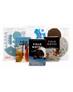 Field Notes Three Missions Memo Books and Crew Capsules