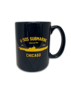U-505 Submarine Captured 1944 Chicago Mug