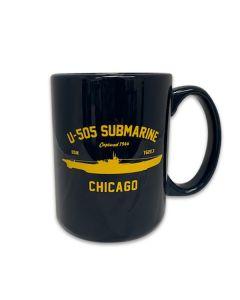 U-505 Submarine Captured 1944 Chicago Mug