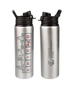 Chicago Skyline Elements Water Bottle
