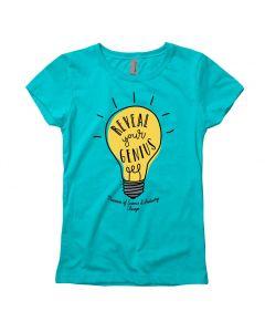 Girls Reveal Your Genius T-Shirt