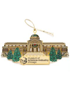 MSI Chicago Gold Ornament