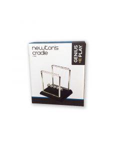 Chrome Newton's Cradle