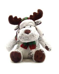 Plush Holiday Reindeer