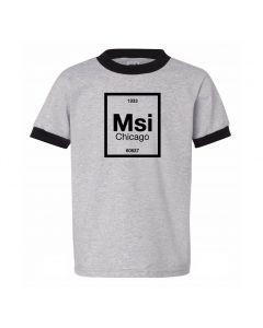 Youth MSI Chicago Zip Code T-shirt